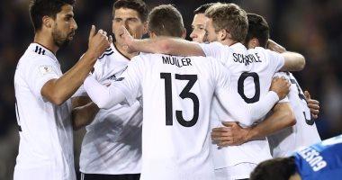 منتخب ألمانيا حقق الفوز فى جميع مبارياته بالتصفيات