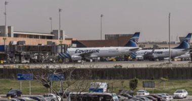 مطار القاهرة يجرى اليوم تجربة طوارئ بمشاركة 25 سيارة إسعاف و10 إطفاء