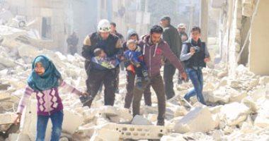 وحدات الشعب الكردية فى سوريا تسلم موسكو سيدات وأطفال من عائلات مسلحى داعش