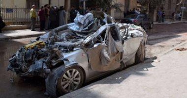 الصحة: وفاة 2 وإصابة 14 آخرين فى حادث سير بالجيزة -