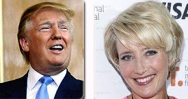 """ترامب يتحرش بـ""""إيما تومسون"""": يمكننى استضافتك فى أحد أبراجى إنها مريحة جدا"""
