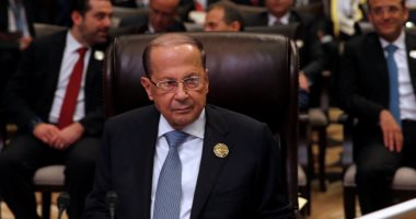 الرئيس اللبنانى: لا صحة لمزاعم إسرائيل بوجود مخابئ أسلحة بعدد من المناطق
