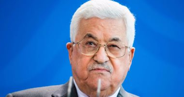 الرئيس الفلسطينى يدين بأشد العبارات حادث مسجد الروضة الإرهابى
