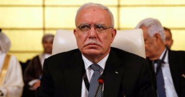 وزير الخارجية الفلسطينى يتهم إدارة ترامب بمحاولة تصفية القضية الفلسطينية