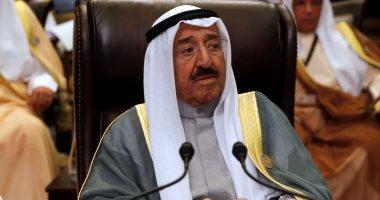 أمير الكويت يتوجه غدا إلى السعودية لترؤس وفد بلاده فى 3 قمم