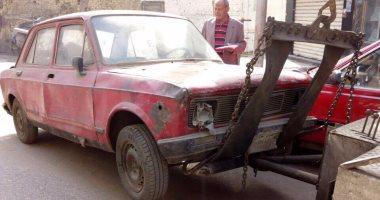 المرور يضبط 13 سيارة و دراجة بخارية متروكة فى حملات بالقاهرة
