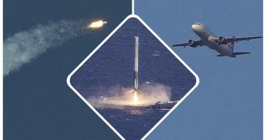 إطلاق أول صاروخ فضاء مستعمل فى محاولة لتخفيض تكاليف الرحلات
