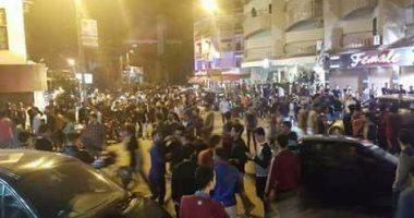تداول فيديو لواقعة التحرش الجماعى بفتاة فى أحد شوارع الزقازيق بالشرقية