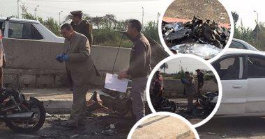 مصدر أمنى: العبوة المفخخة المستخدمة فى حادث تفجير طنطا تزن 4 كيلو جرام