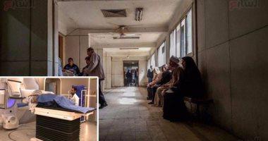 """وقف ممرضة وعامل ومسعف فى واقعة """"سيجارة مستشفى الإسكندرية"""""""