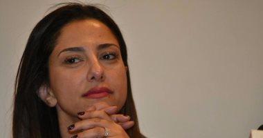 نجاة حنان مطاوع من موت محقق بعد تصادم سيارتها بمقطورة