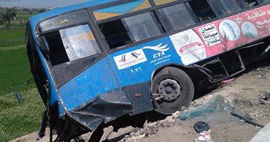 مصرع اثنين فى حادث تصادم بين سيارتين على طريق دمياط ـ شربين