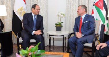 نص كلمة الرئيس السيسى بمناسبة مرور 100 عام على تأسيس المملكة الأردنية