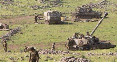 الجيش الإسرائيلى يقصف مواقع عسكرية بالجولان