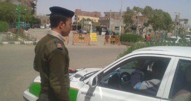 تحرير 1048 مخالفة متنوعة خلال حملة مرورية بالإسماعيلية