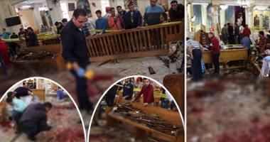 """""""الصحة"""": 44 شهيدًا و126مصابًا فى تفجير كنيستى الإسكندرية وطنطا"""