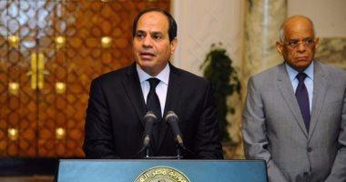 بالصور.. الرئيس السيسى يعلن حالة الطوارئ بالبلاد لمدة 3 أشهر