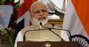 رئيس وزراء الهند يصل إلى العاصمة الأردنية عمان