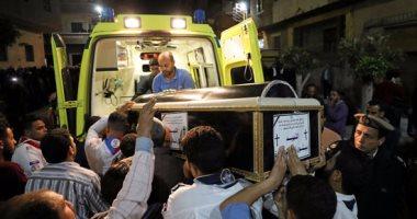 ارتفاع شهداء حادث تفجير كنيسة مار جرجس إلى 29 حالة