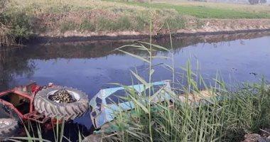 مصرع طالب بعد انقلاب جرار زراعى عليه أثناء قيادته له فى أرضه الزراعية بأخميم بسوهاج