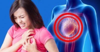 5 أعراض للأزمات القلبية تحدث لدى النساء فقط