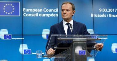 المجلس الأوروبى: دونالد توسك والمستشار النمساوى يلتقيان الرئيس السيسى غدا