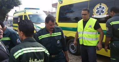 """مصرع شخص وإصابة آخر فى حادث تصادم سيارتين بطريق """"السويس - الصحراوى"""""""