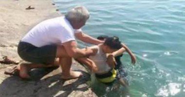 النيابة تنتقل لمعاينة مكان غرق طفلين فى مياه النيل بالمعصرة