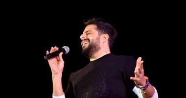 توافد الجمهور على حفلة محمد حماقى فى 6 أكتوبر