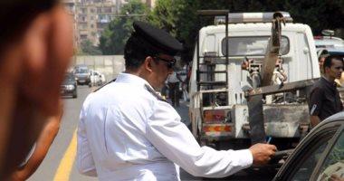 تحرير 528 مخالفة مرورية وضبط سائقين لتعاطيهما المخدرات بمطروح