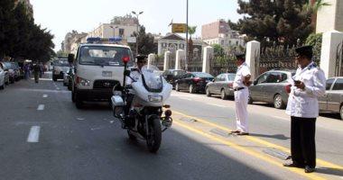 ضبط 21 محكوما عليهم و تحرير 92 مخالفة مرورية بشمال سيناء