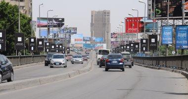 سيولة مرورية بجميع شوارع وميادين القاهرة والجيزة