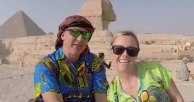 """""""امشى كأنك مصرى"""".. فيديو يرصد رحلة أستراليين فى مصر يحظى بمشاهدة واسعة"""