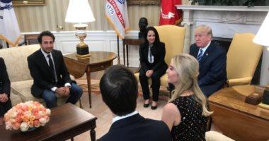 ترامب يلتقى آية حجازى بعد وصولها الولايات المتحدة عقب الإفراج عنها