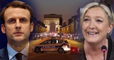 """قبل 48 ساعة من الانتخابات الفرنسية.. """"داعش"""" يمنح مارين لوبان هدية بهجوم """"الشانزليزيه"""".. واستطلاع للرأى: مرشحة اليمين المتطرف تحتل المرتبة الثانية بعد مرشح """"الوسط"""" ماكرون.. واليمينى فيون فى المركز الثالث"""