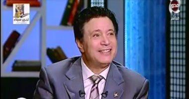 """بالفيديو..إيمان البحر درويش يبكى على الهواء بعد مشاهد من مسلسل """"الإمام الشافعى"""""""