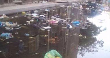 قارئ يرصد غرق شوارع مساكن النوبارية بالإسكندرية بمياه المجارى