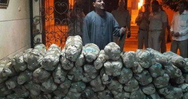 أمن المنيا يطارد تجار المخدرات ويضبط 1070 طن بانجو فى حملات خلال أسبوع