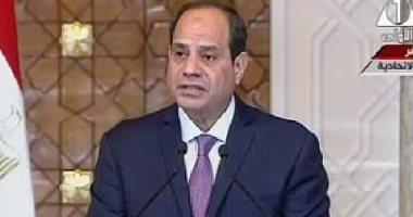 بالفيديو.. السيسي: القوات المصرية تشارك فى تحقيق الاستقرار بشرق الكونغو