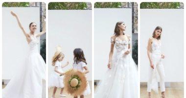 بالصور.. المجموعة الكاملة لـOscar de la Renta باسبوع فساتين الزفاف بنيويورك
