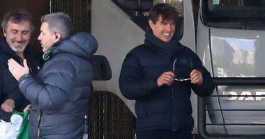 """بالصور.. توم كروز يصور """"6 Mission Impossible"""" بالقرب من موقع هجمات باريس"""