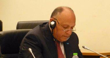 وزير الخارجية يتوجه إلى أكرا حاملا رسالة من الرئيس السيسى لنظيره الغانى