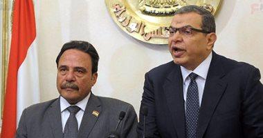 وزير القوى العاملة محمد سعفان ورئيس لجنة القوى العاملة بالبرلمان جبالى المراغى