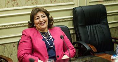 النائبة مارجريت عازر عضو لجنة حقوق الإنسان بالبرلمان