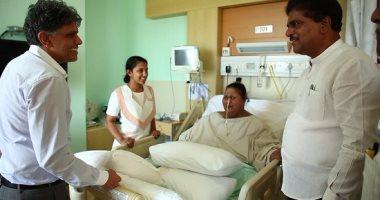 أطباء الهند لأسمن امرأة: سنفتقد قبلاتك الطائرة وننتظر اعتذارا من شقيقتك