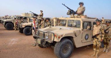 سيارات القوات المسلحة تستعد لتأمين زيارة بابا الفاتيكان