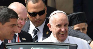 بابا الفاتيكان يلقى كلمة اليوم فى مؤتمر الأزهر للسلام ويلتقى البابا تواضروس