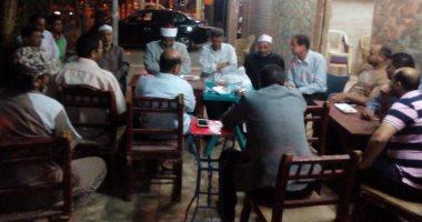 بالصور.. أئمة وعظ الوادى الجديد يدشنون حملة للإسلام الوسطى على المقاهى