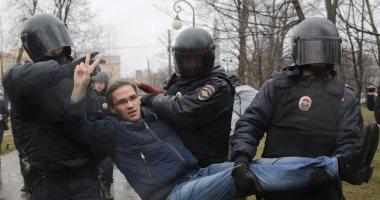 الشرطة الروسية تعتقل 70 شخصا فى احتجاجات للمعارضة