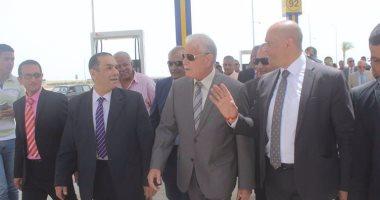 محافظ جنوب سيناء يتفقد مشروع ترشيد الطاقة بالمدينة الشبابية بشرم الشيخ